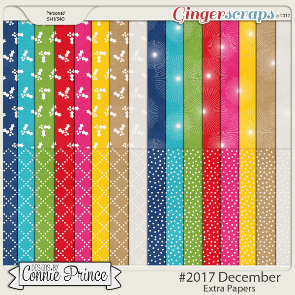 #2017 December - Extra Papers by Connie Prince