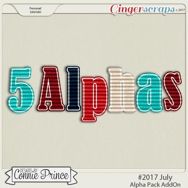 #2017 July - Alpha Pack AddOn