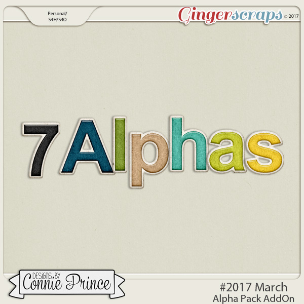 #2017 March - Alpha Pack AddOn