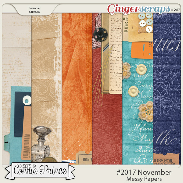 #2017 November - Messy Papers