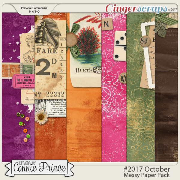 #2017 October - Messy Papers