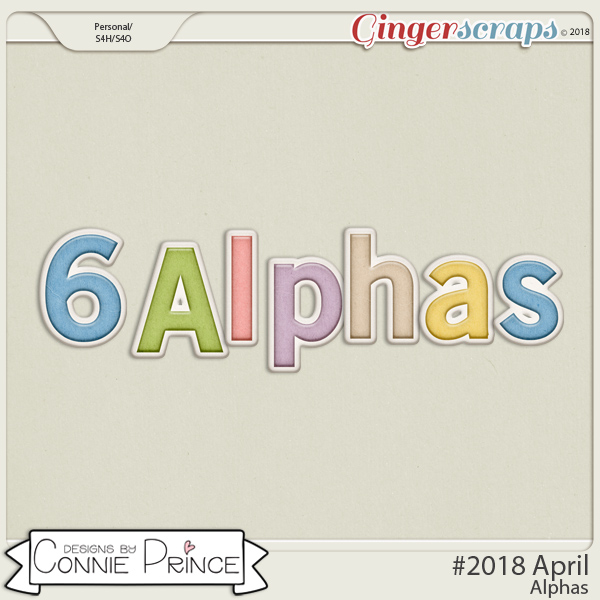 #2018 April - Alpha Pack AddOn by Connie Prince