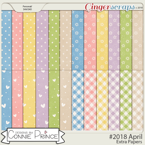 #2018 April - Extra Papers by Connie Prince