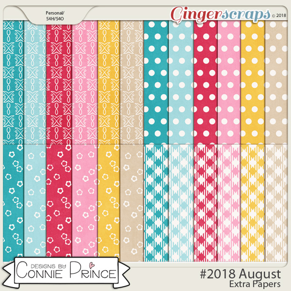 #2018 August - Extra Papers by Connie Prince