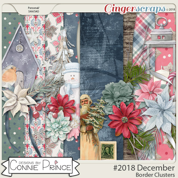#2018 December - Border Clusters by Connie Prince