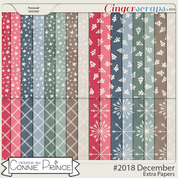 #2018 December - Extra Papers by Connie Prince