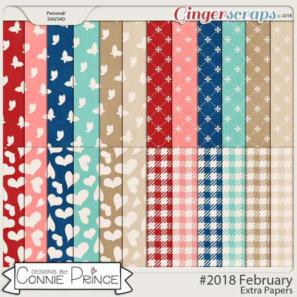 #2018 February - Extra Papers by Connie Prince