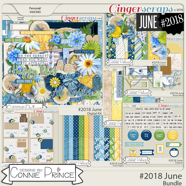 #2018 June - Bundle Collection by Connie Prince
