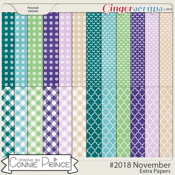 #2018 November - Extra Papers by Connie Prince