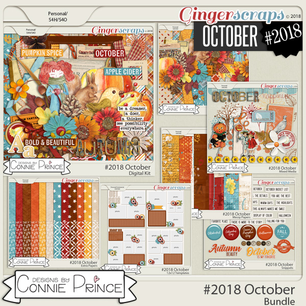 #2018 October - Bundle Collection by Connie Prince