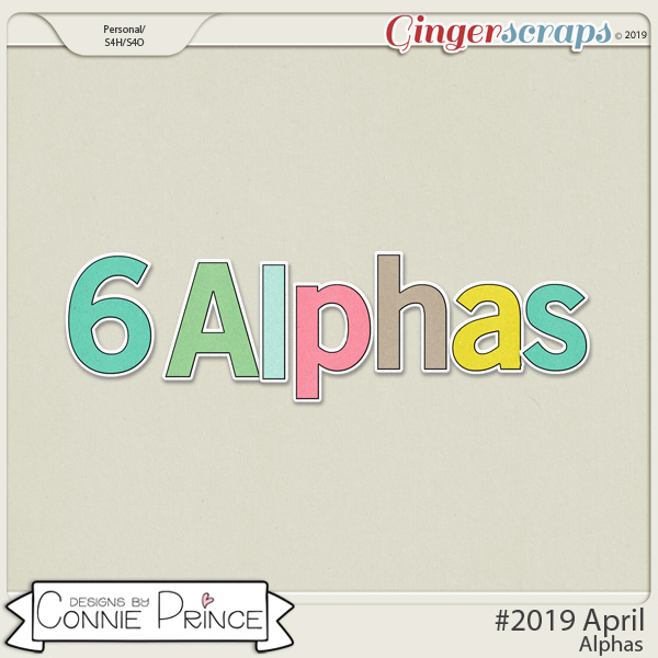 #2019 April - Alpha Pack AddOn by Connie Prince