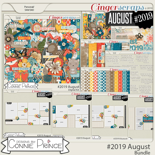 #2019 August - Bundle Collection by Connie Prince