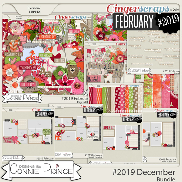 #2019 February - Bundle Collection by Connie Prince
