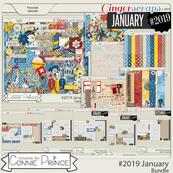 #2019 January - Bundle Collection by Connie Prince
