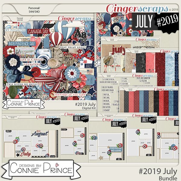 #2019 July - Bundle Collection by Connie Prince