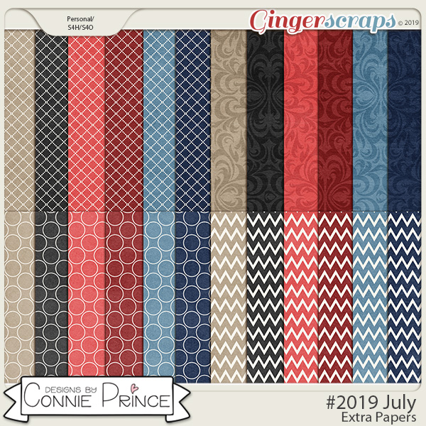 #2019 July - Extra Papers by Connie Prince