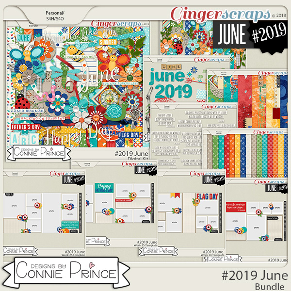 #2019 June - Bundle Collection by Connie Prince