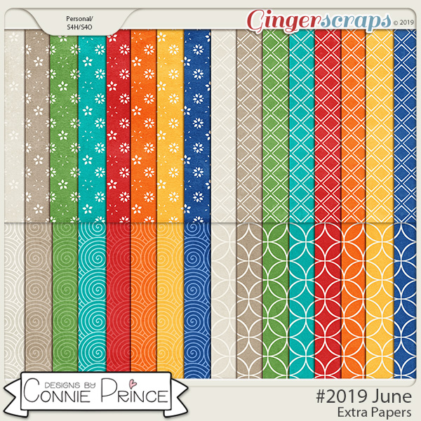 #2019 June - Extra Papers by Connie Prince