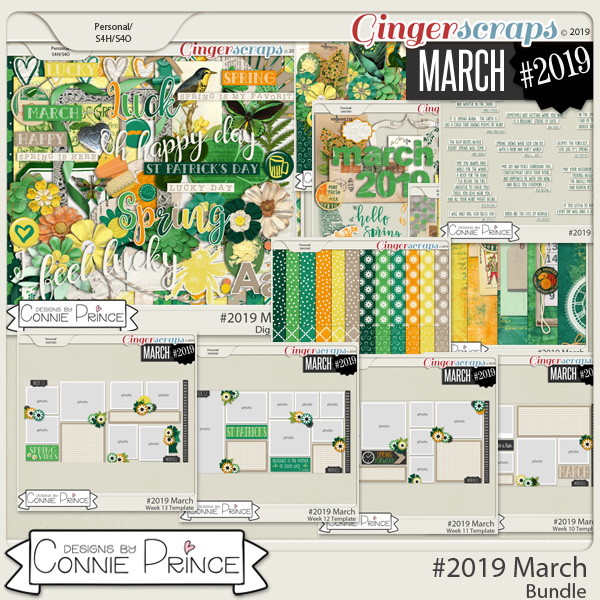 #2019 March - Bundle Collection by Connie Prince
