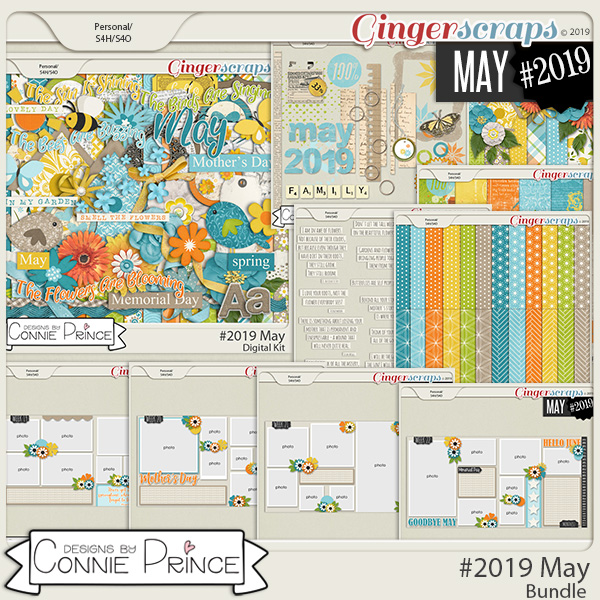 #2019 May - Bundle Collection by Connie Prince
