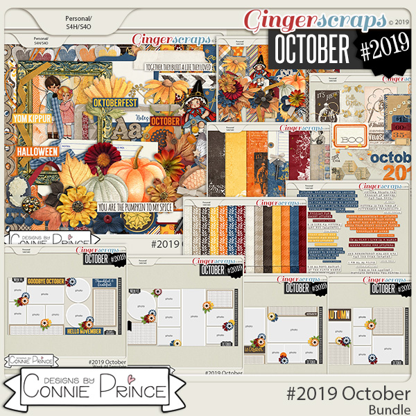 #2019 October - Bundle Collection by Connie Prince