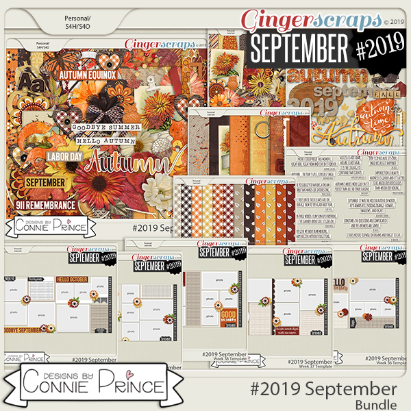 #2019 September - Bundle Collection by Connie Prince