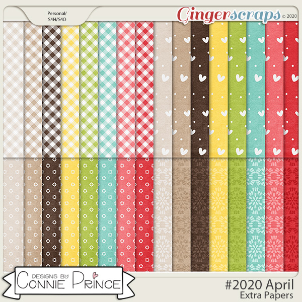 #2020 April - Extra Papers by Connie Prince