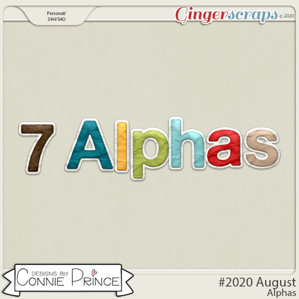 #2020 August - Alpha Pack AddOn by Connie Prince
