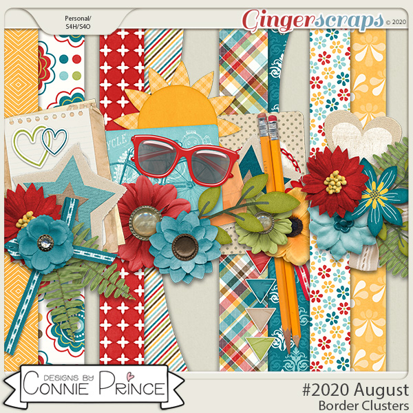 #2020 August - Border Clusters by Connie Prince