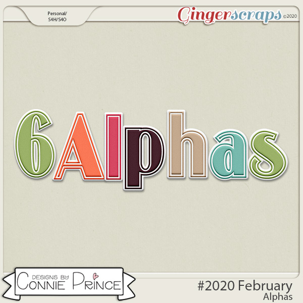 #2020 February - Alpha Pack AddOn by Connie Prince