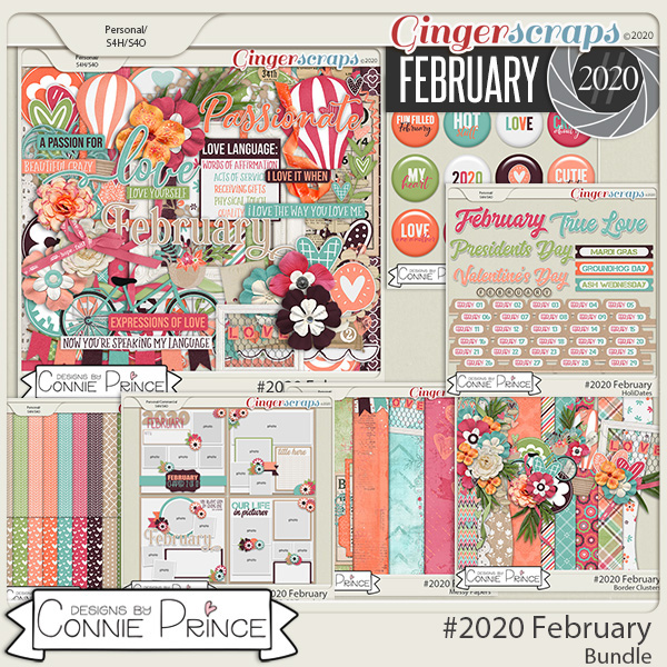#2020 February - Bundle Collection by Connie Prince