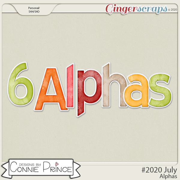 #2020 July - Alpha Pack AddOn by Connie Prince