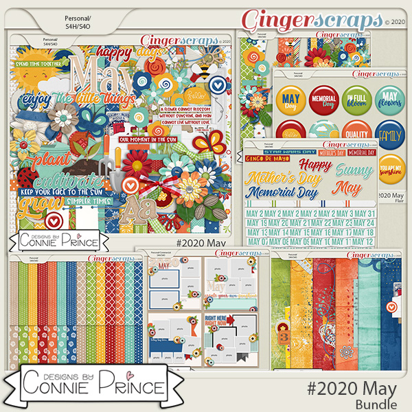 #2020 May - Bundle Collection by Connie Prince