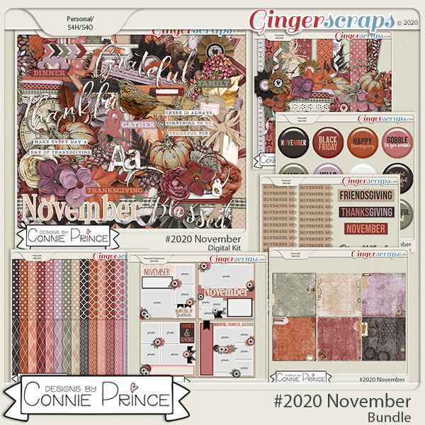 #2020 November - Bundle Collection by Connie Prince