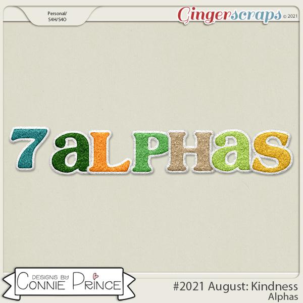 2021 August: Kindness Bonus Alphas by North Meets South Studios