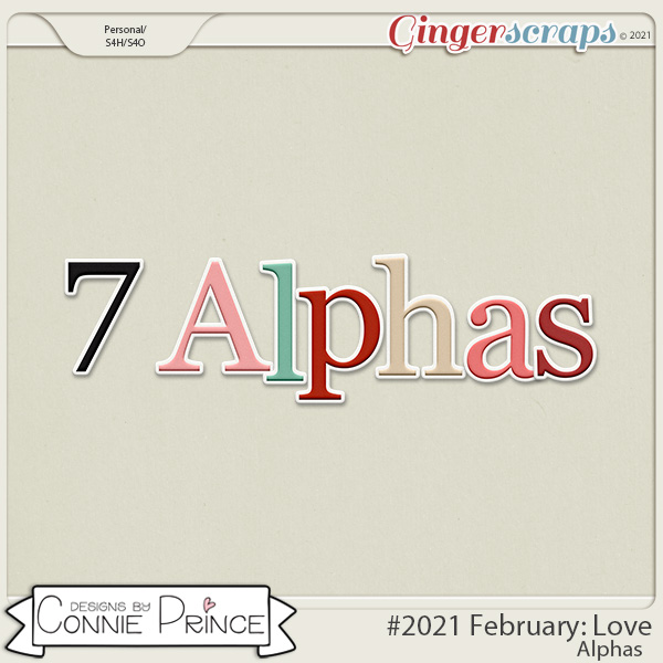 2021 February: Love Bonus Alphas by North Meets South Studios
