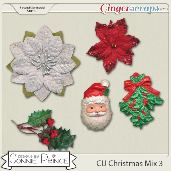 Commercial Use Christmas Mix Volume 3 by Connie Prince