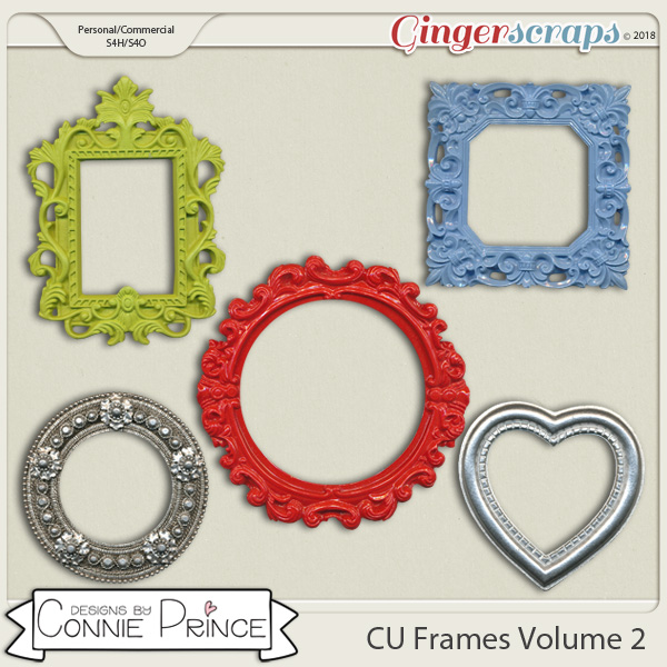 Commercial Use Frames Volume 2 by Connie Prince.