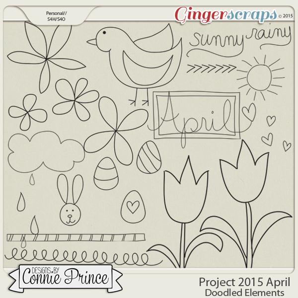 Retiring Soon - Project 2015 April - Doodled Elements
