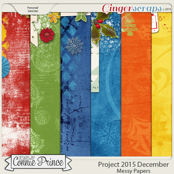 Project 2015 December - Messy Paper Pack