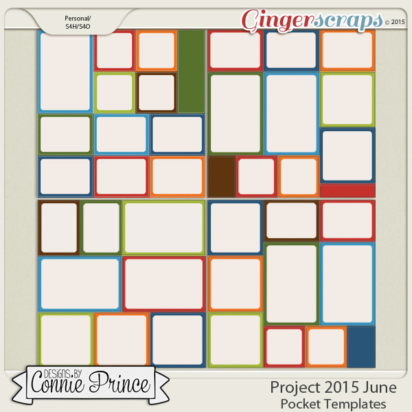 Project 2015 June - Stitched Pocket Templates