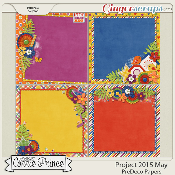 Project 2015 May - PreDeco Papers