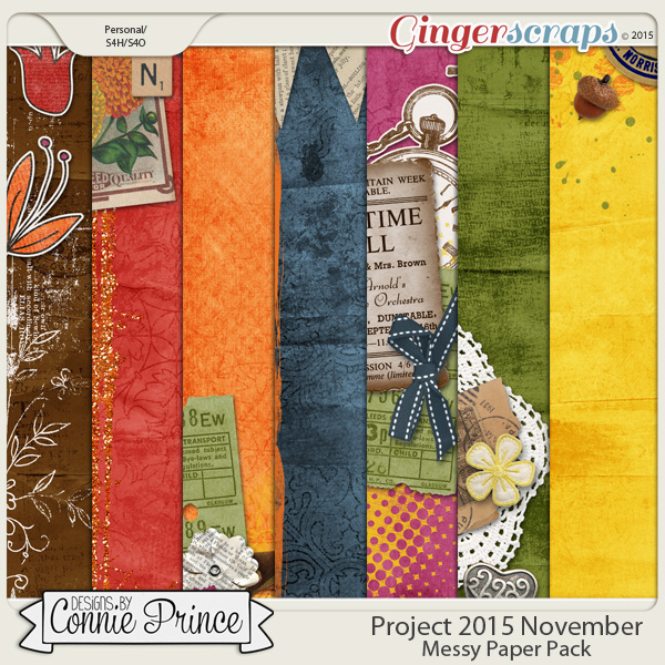 Project 2015 November - Messy Paper Pack