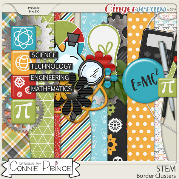 STEM - Border Clusters by Connie Prince