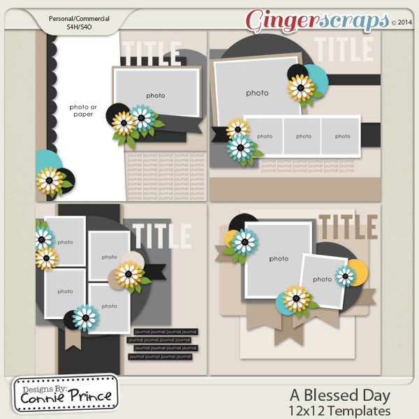 A Blessed Day  - 12x12 Temps (CU Ok)