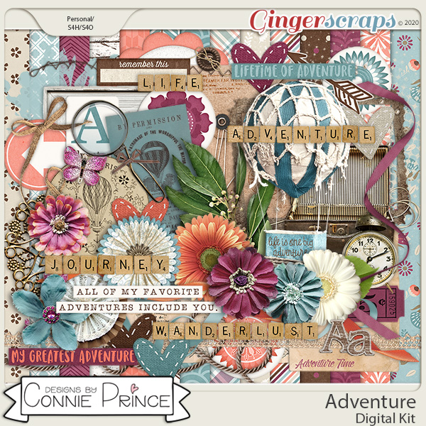 Adventure - Kit by Connie Prince