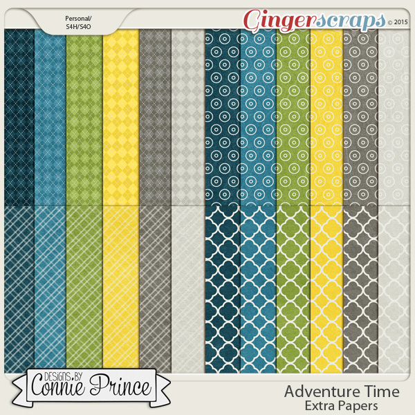 Adventure Time - Extra Papers