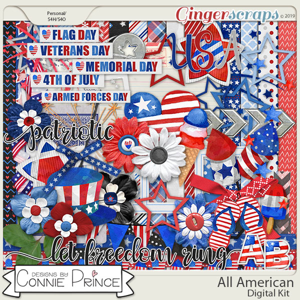 All American - Kit by Connie Prince