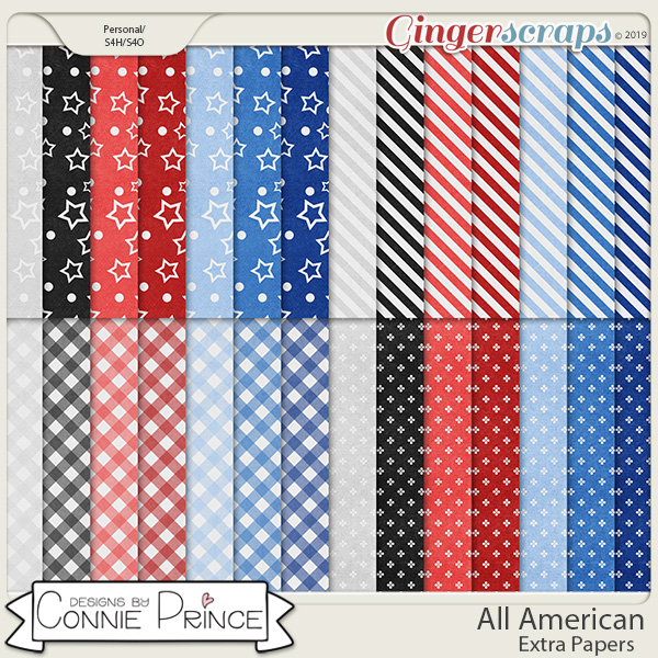 All American - Extra Papers by Connie Prince