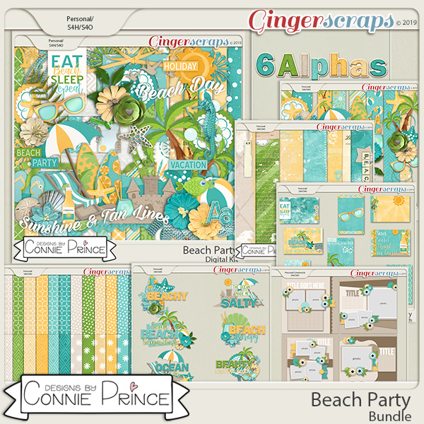 Beach Party - Bundle by Connie Prince